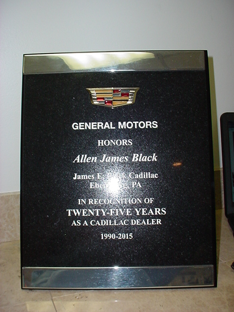 25 Years Award - Allen Black