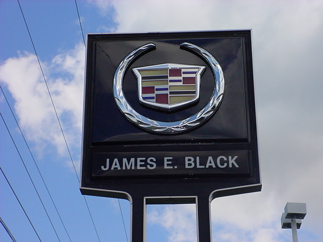 James Black Cadillac Cadillac Sign